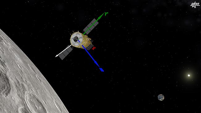 嫦娥五號探測器再次實施制動 進入近圓形環月軌道飛行