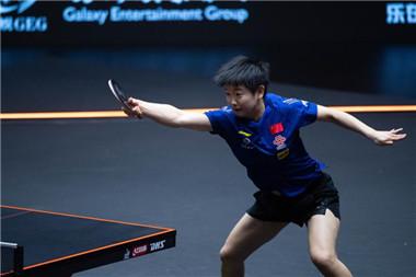 馬龍、孫穎莎奪得WTT澳門國際乒乓球賽男、女單打冠軍