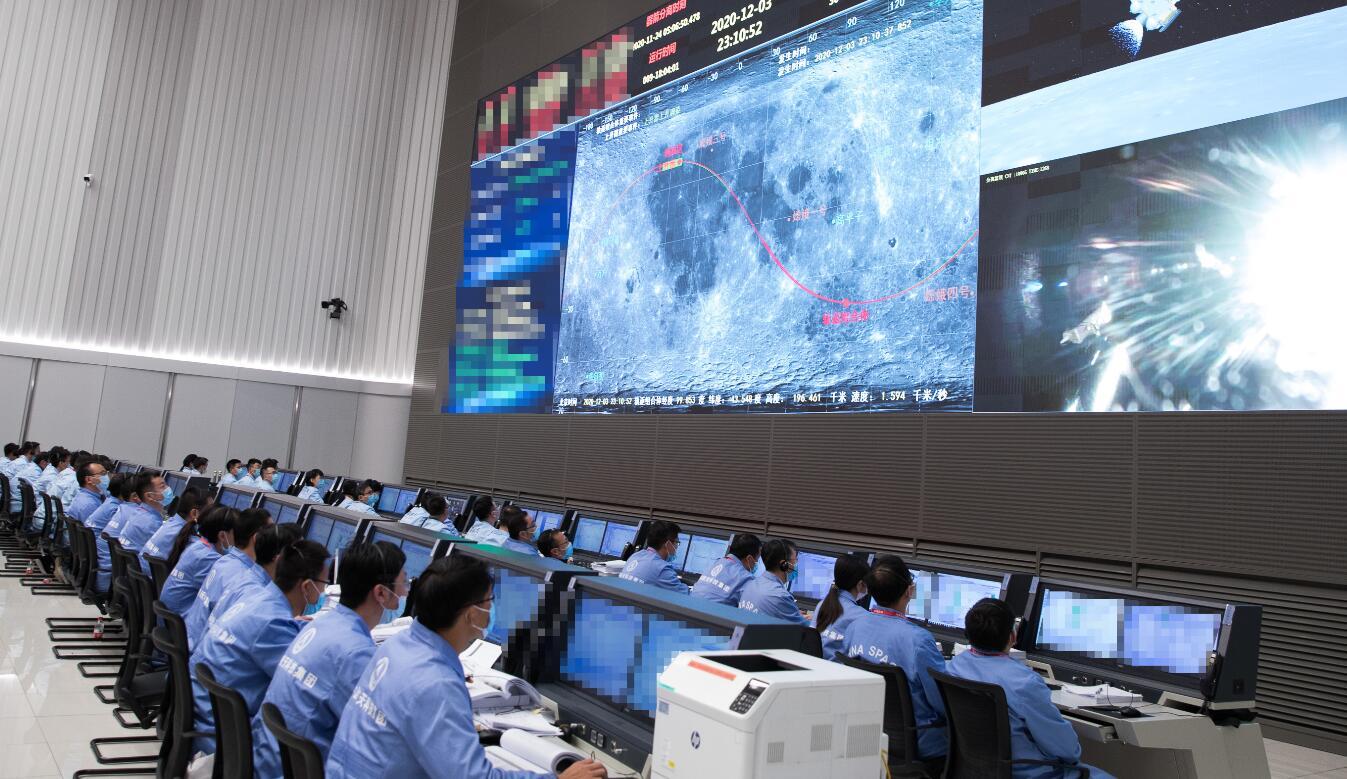 嫦娥五號上升器月面點火 成功實現我國首次地外天體起飛
