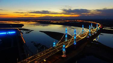 打卡銀川的網紅橋