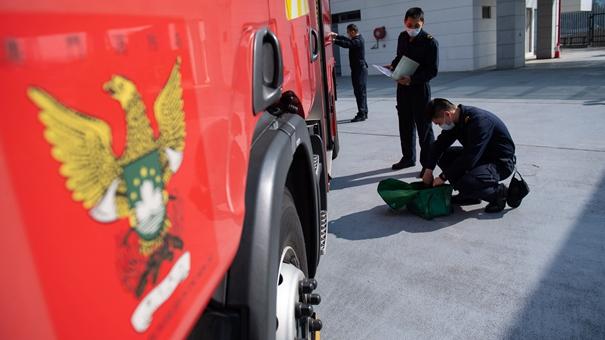 21歲消防員——守護澳門的衛士
