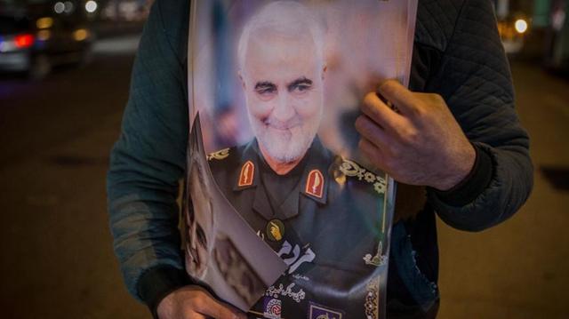 伊朗舉行蘇萊曼尼遇難周年悼念活動