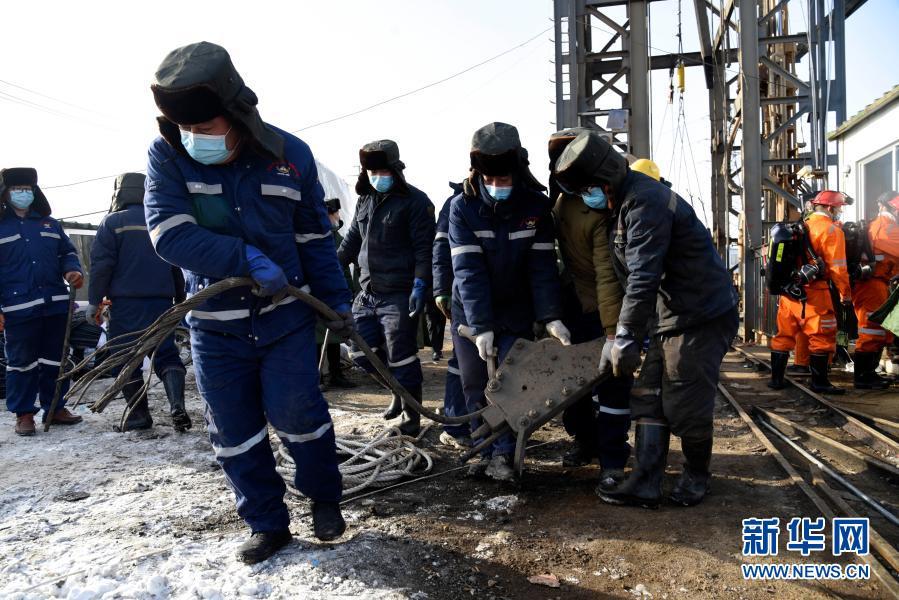 山東笏山金礦救援:井下300米空氣質量已達標