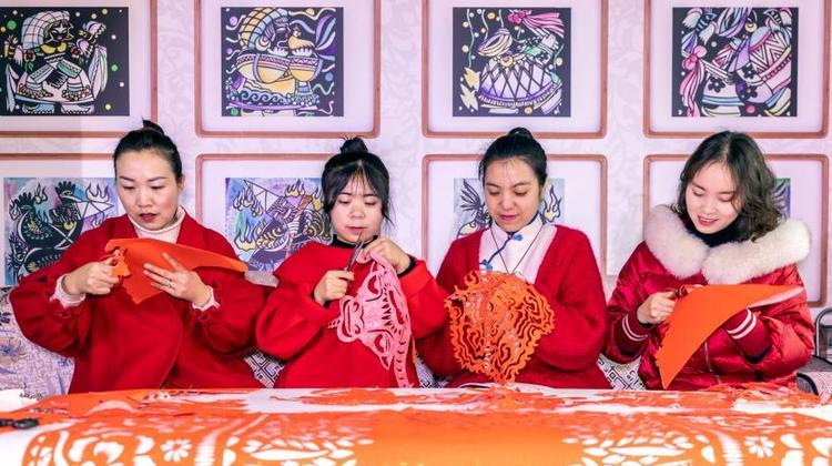 剪紙迎新春