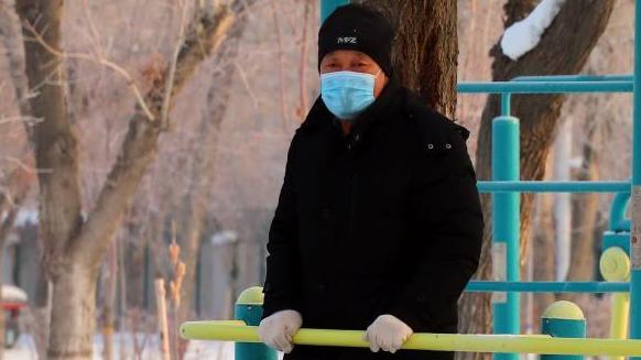 烏魯木齊:冬季健身忙