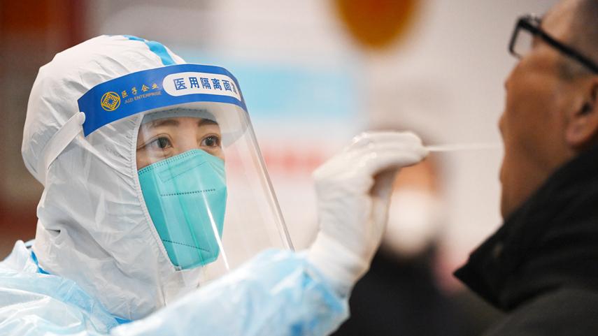 哈爾濱市民核酸檢測有序推進