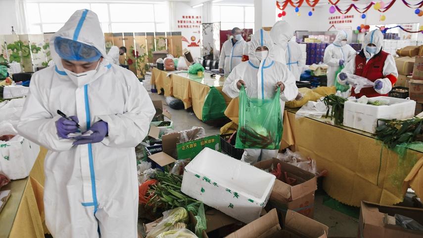 吉林通化全力保障生活物資配送