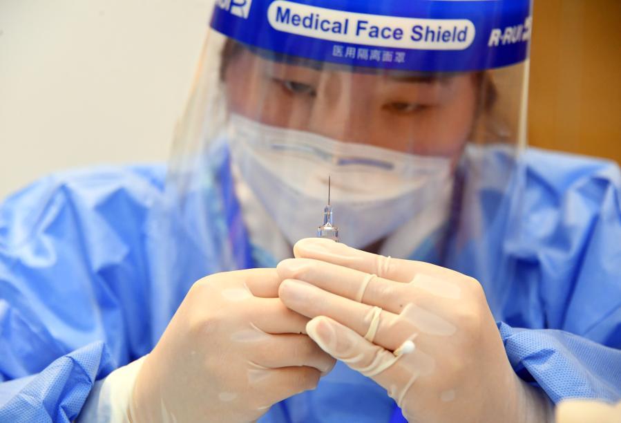北京海淀:新冠疫苗接種進企業