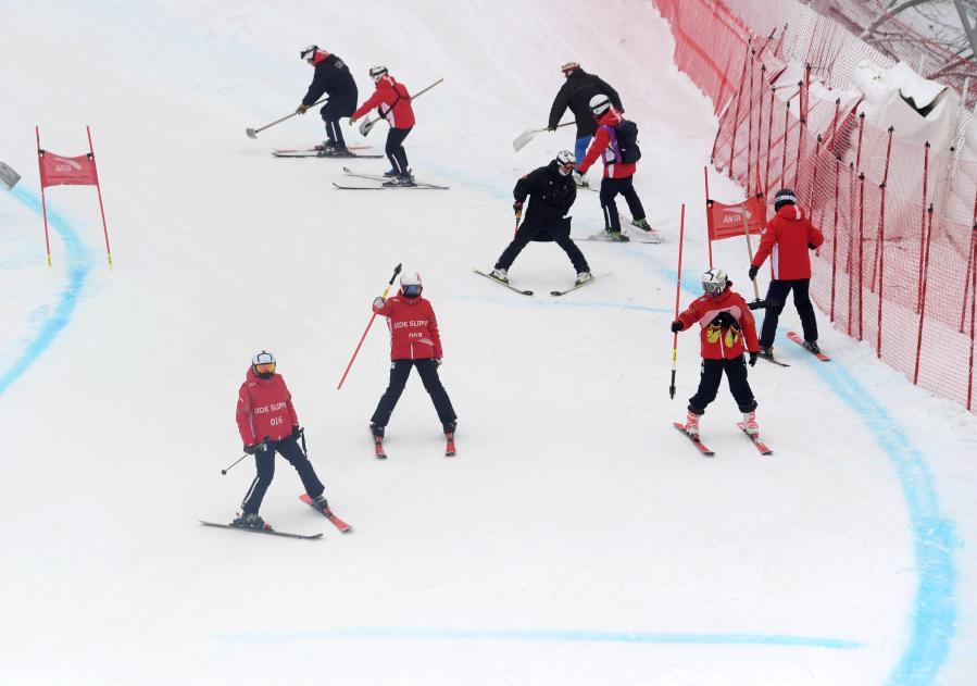 北京冬奧會和冬殘奧會延慶賽區測試活動持續進行