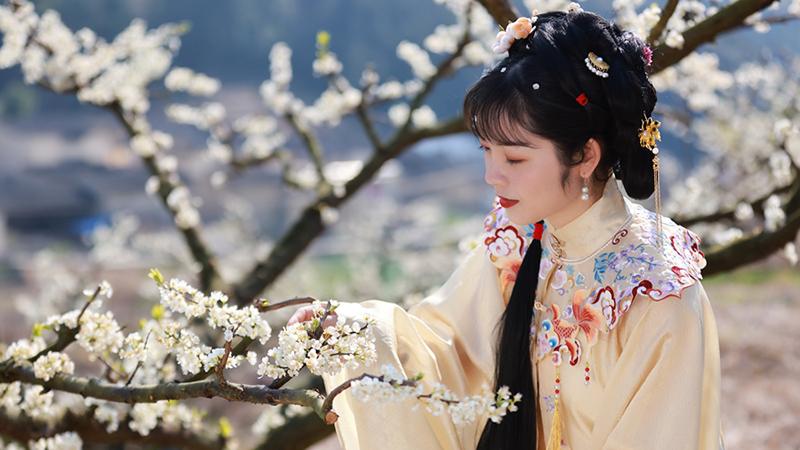 組圖丨寧德古田:漢服華裳赴春日宴