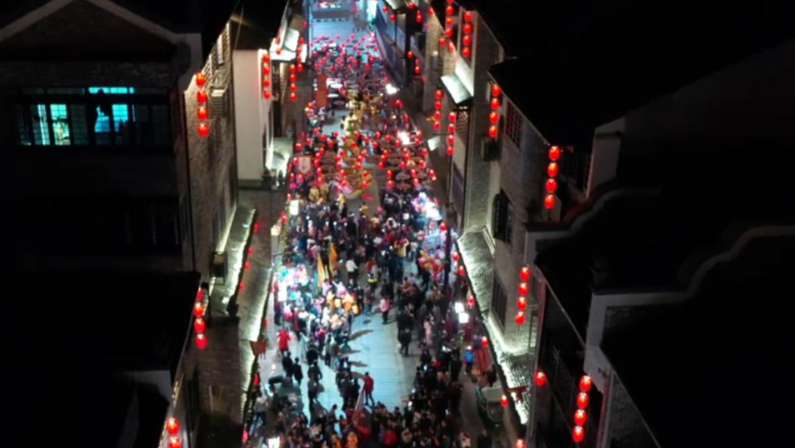 【新春走基層】江西萍鄉:舞龍迎燈 喜樂元宵