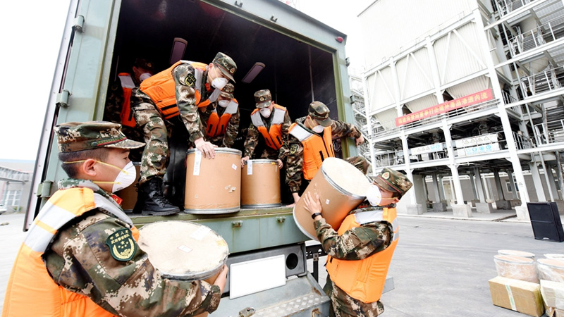 組圖丨福建海警局集中銷毀制毒物品