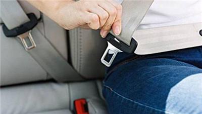 請注意 5月起機動車駕乘人員都要係安全帶