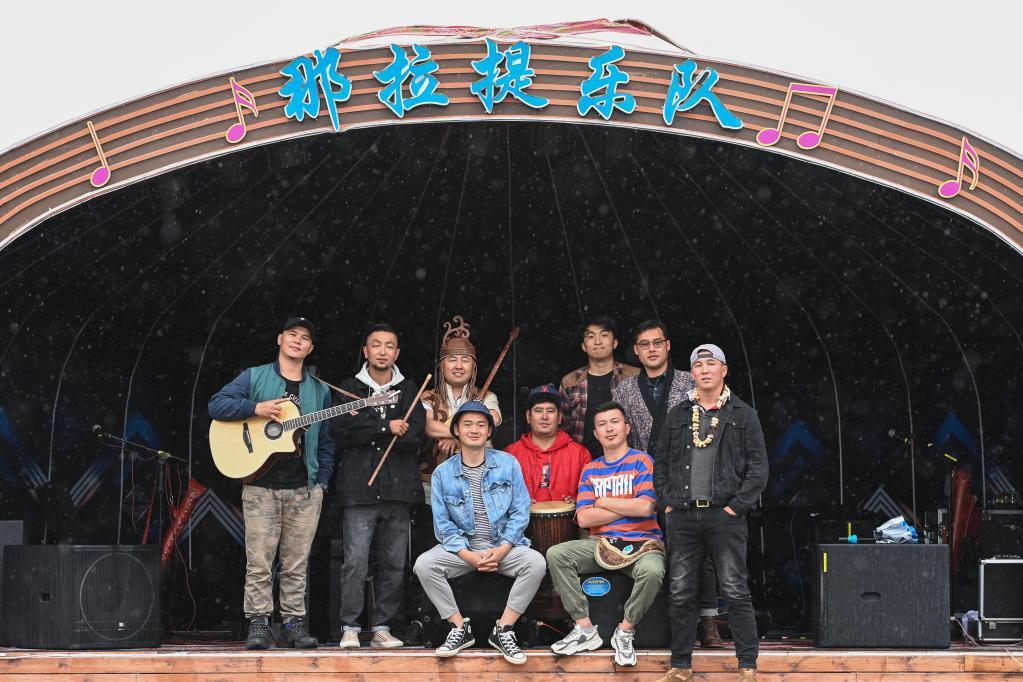 新疆是個好地方|來自那拉提草原的逐夢樂隊