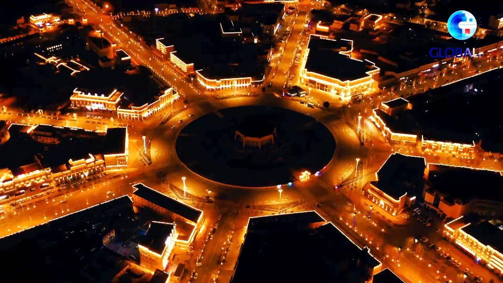 新疆是個好地方|小城裏探乾坤——新疆特克斯八卦城