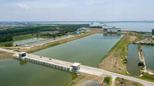 湖北仙桃大垸子泵站建成投運