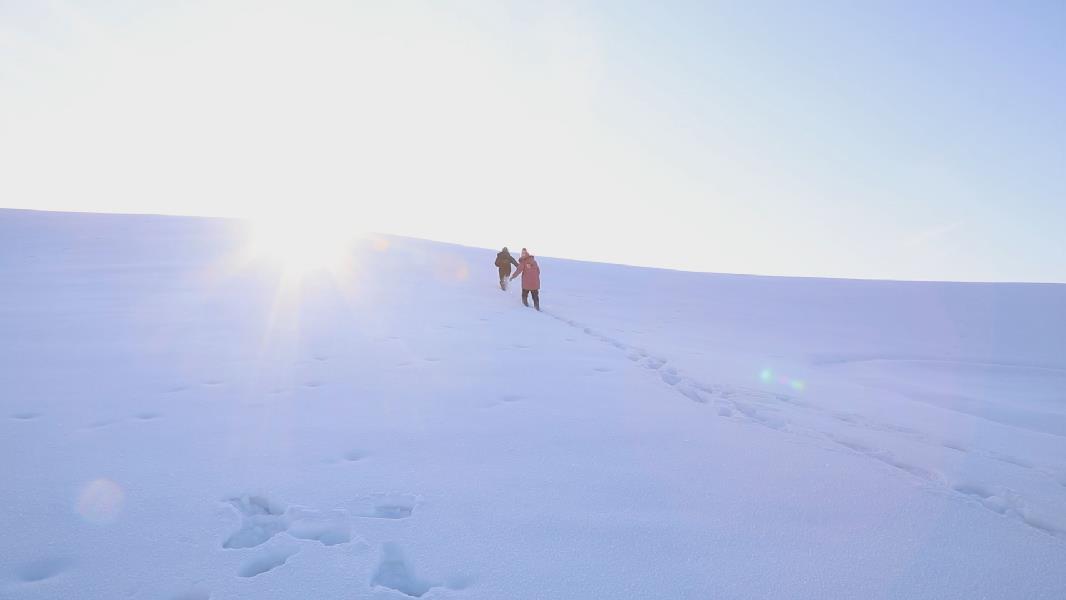 這裏是新疆 | 來和艾特瑪爾在雪地裏盡情的玩耍吧
