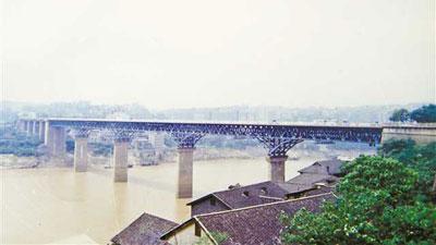 重慶用了近8年時間 建成中心城區首座跨江大橋