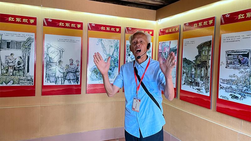 【網絡媒體革命老區行】朱德紅軍革命舊址:紅色故事在這裏生動起來
