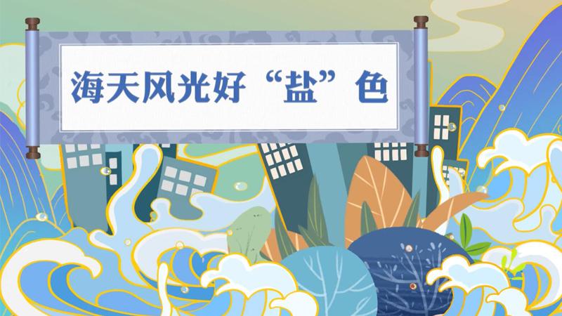 """風物直播間丨海天風光好""""鹽""""色"""