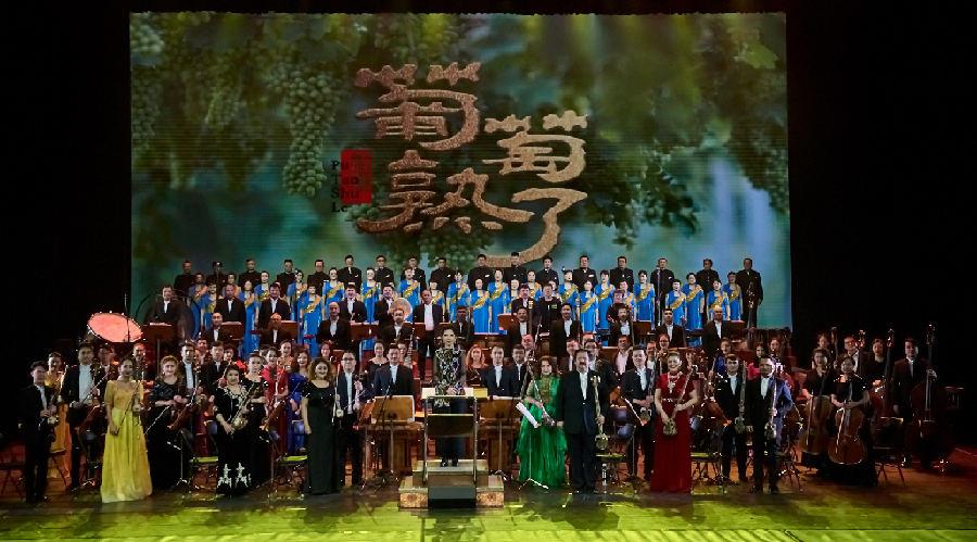 來啦!新疆首部清唱劇《葡萄熟了》9日起火熱開演