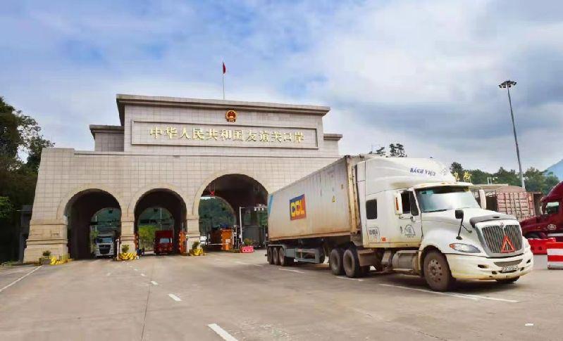 """中國-東盟區域經濟一體化的""""生動注腳"""":疫情下中越邊境貿易加速復蘇"""