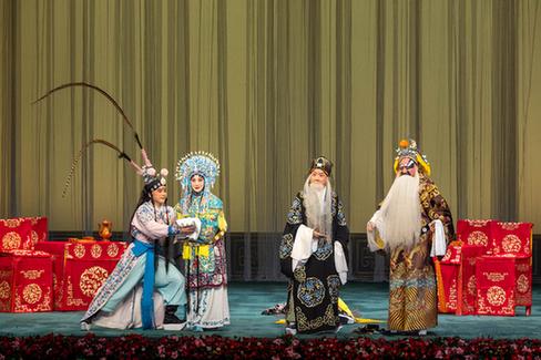 北京京劇院舉辦優秀青年馬派老生演員張凱個人專場演出