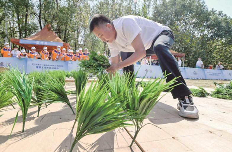 武漢市第五屆農民運動會在江夏舉行