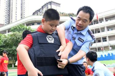 重慶:國防教育進校園