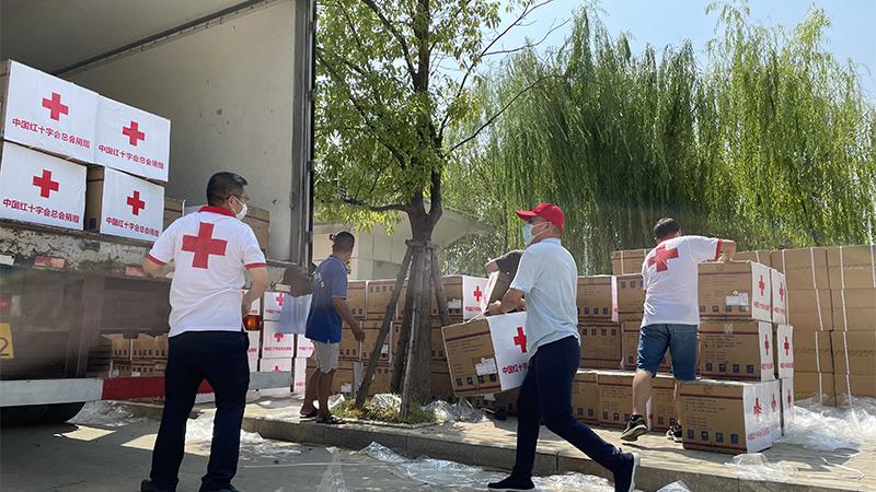 中國紅十字會總會捐贈100萬元物資支援廈漳泉