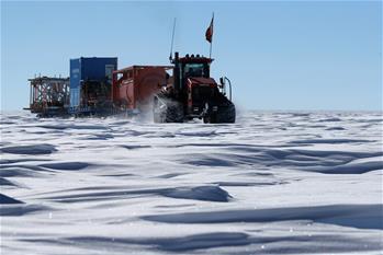 中國南極科考隊昆侖隊成功抵達冰穹A地區