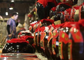 湖南張家界:土家糯米酒 飄香迎新春