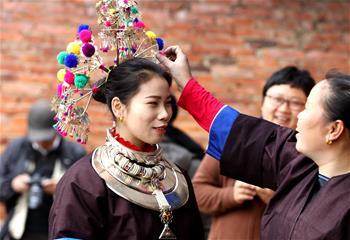 廣西三江:侗族特色婚俗鬧新春