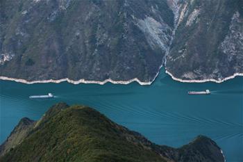 長江巫峽壯美如畫