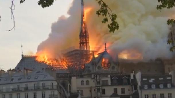 巴黎聖母院火災排除縱火可能
