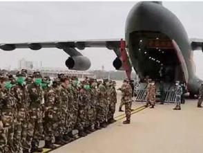 軍隊支援湖北醫療隊進駐湖北省婦幼保健院光谷院區