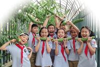 勞動教育成了大中小學必修課 浙江校園農場會越來越多嗎