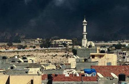 利比亞民族團結政府宣布收復首都的黎波裏