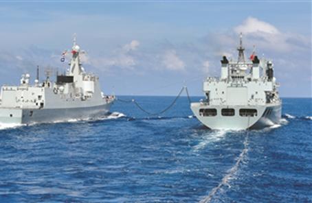 南部戰區海軍某作戰支援艦支隊緊盯短板弱項補差強能