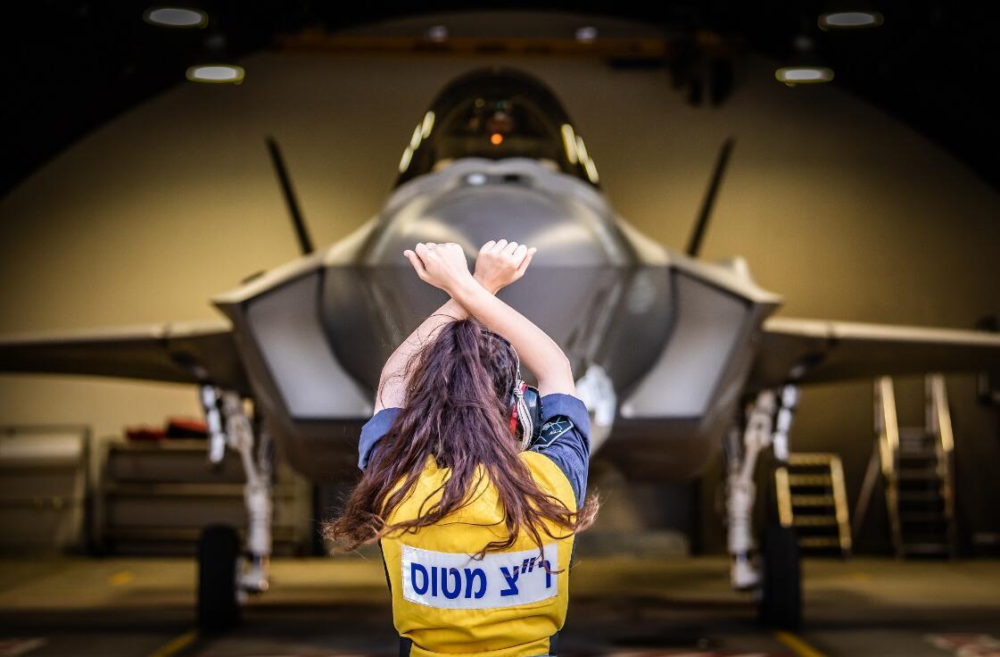 以色列第二支F-35戰鬥機中隊形成戰力 女地勤搶眼