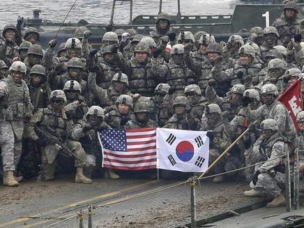 韓媒:韓美舉行預備演習 聯合軍演計劃于下周啟動