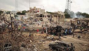索馬裏首都發生自殺式炸彈襲擊致6死4傷