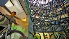 中國首座自行車智能存取樓天津投用