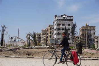探訪敘利亞杜馬鎮