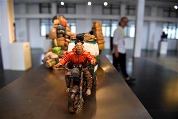 首屆平遙國際雕塑節開幕