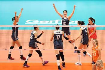 女排世錦賽:中國隊獲季軍