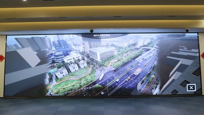 上海數字體徵係統上線