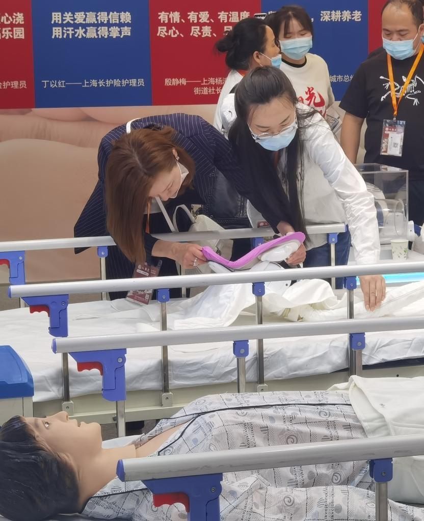 上海養老展展示養老産品發展方向:更舒適更安全更智能