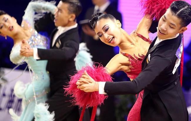中國體育舞蹈公開係列賽上海站開賽