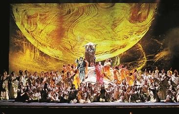 原創神話歌劇《天地神農》在東方藝術中心首演